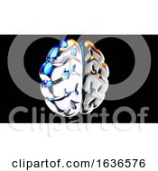 3d Brain Medical Icon