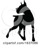 03/25/2019 - Dog Silhouette Pet Animal
