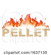 Flames And The Word Pellet by Domenico Condello
