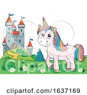 Unicorn And Castle
