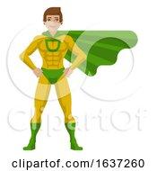 Superhero Man Cartoon