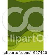 Green Flyer Background