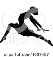 Poster, Art Print Of Ballet Dancing Silhouette