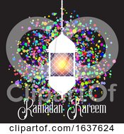 Colourful Ramadan Kareem Background