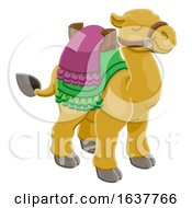 Camel Animal Cartoon Character by AtStockIllustration