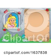 Poster, Art Print Of Princess In A Window