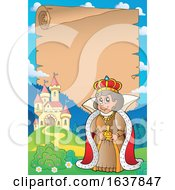 Poster, Art Print Of Queen And Castle