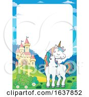 Unicorn And Castle Border