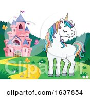 Unicorn And Castle