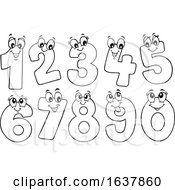 Black And White Happy Numbers