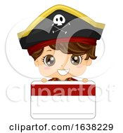 Kid Boy Pirate Name Tag Illustration by BNP Design Studio