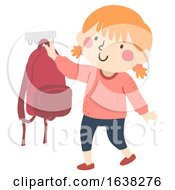 Kid Girl Hang Bag After School Routine