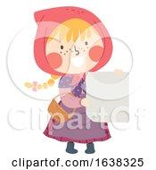 Poster, Art Print Of Kid Girl Sweden Easter Witch Card Illustration