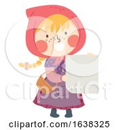 Kid Girl Sweden Easter Witch Card Illustration