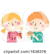 Kids Sweden Fika Soft Cinnamon Bun Illustration