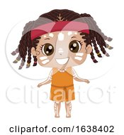 Kid Girl Australian Aboriginal Costume