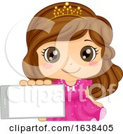 Kid Girl Mobile Arcade Game Princess Illustration