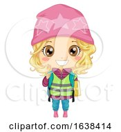 Kid Girl Student Sweden Illustration