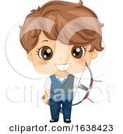 Kid Boy Archery Illustration by BNP Design Studio