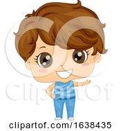 Kid Boy Gymnastics Outfit Illustration