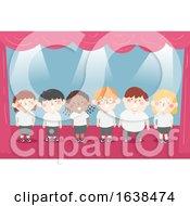 Kids Choral Recitation Illustration