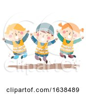 Kids Sweden Nature Dirt Illustration