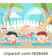 Kids Sweden Nature Nap Illustration