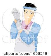 Man Job Embalmer Illustration