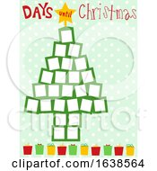 Calendar Days Until Christmas Illustration