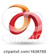Swirly Letter A Logo