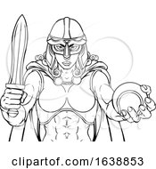 Viking Trojan Celtic Knight Tennis Warrior Woman