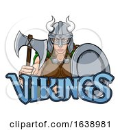 Viking Female Gladiator Warrior Woman Team Mascot