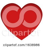 Poster, Art Print Of Red Love Heart