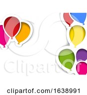 Party Balloon Background