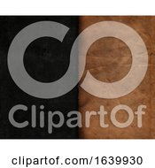 Poster, Art Print Of Grunge Style Blackboard Texture With Old Paper