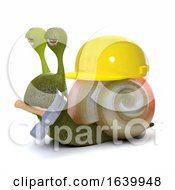 Poster, Art Print Of 3d Builder Snail