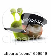 3d Officer Snail by Steve Young