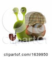 3d Sherlock Snail by Steve Young