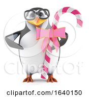 3d Academic Penguin Loves Candy by Steve Young