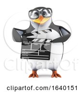 3d Academic Penguin Makes A Movie by Steve Young