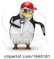 3d Penguin Rapper