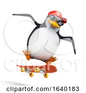 3d Penguin Wipes Out