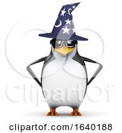3d Wizard Penguin by Steve Young