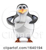 3d Penguin Tea Break