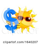 3d Dollar Sun by Steve Young