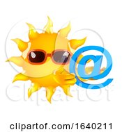 3d Sun Has An Email Address by Steve Young