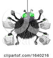 3d Spider Goes Shopping