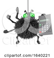3d Spider Has A Calculator