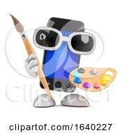 3d Smartphone Loves Art