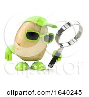 3d Potato Magnifier